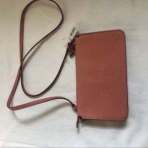 Coach Bags - Blush pink leather coach going out, cross body bag